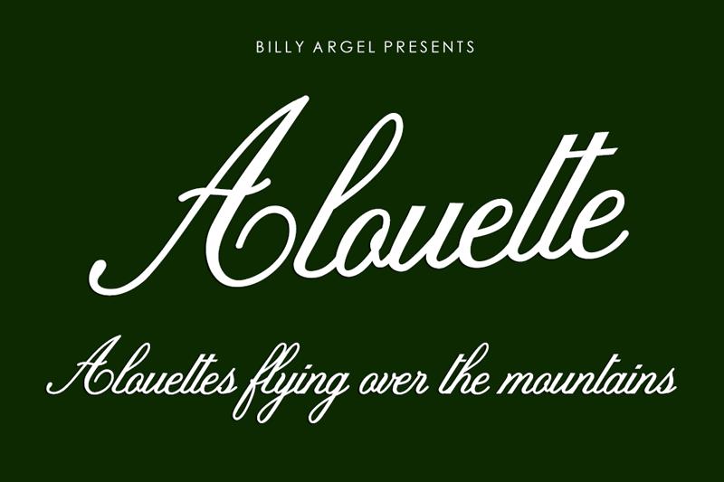 Alouette Script
