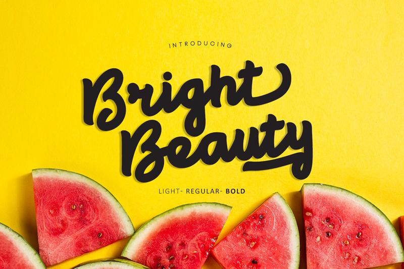 Bright Beauty Script