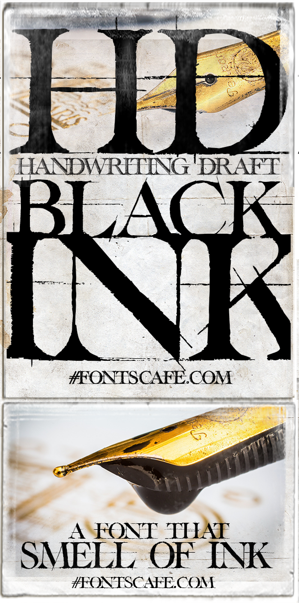 Handwriting Black Draft