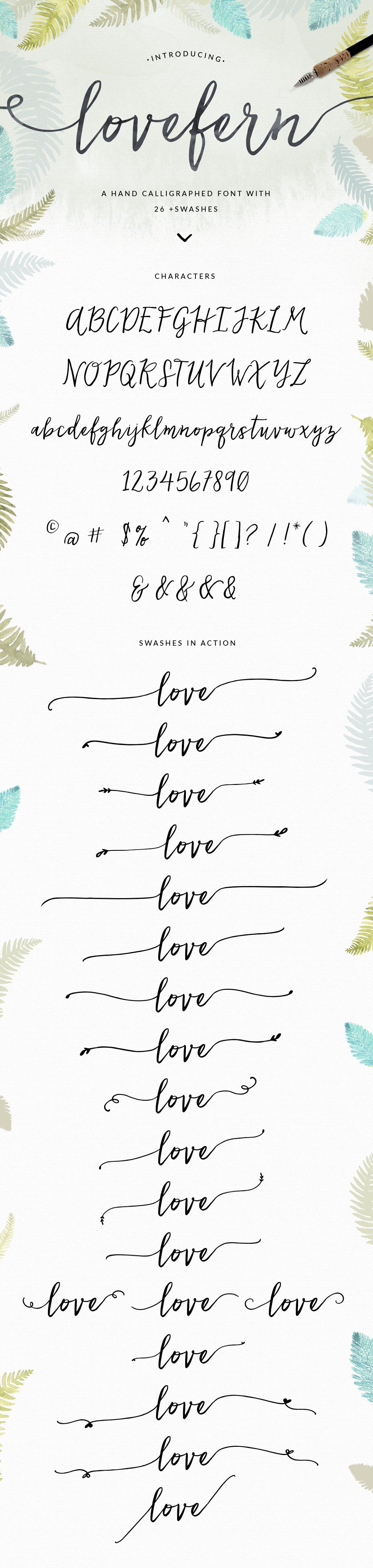 Lovefern Script