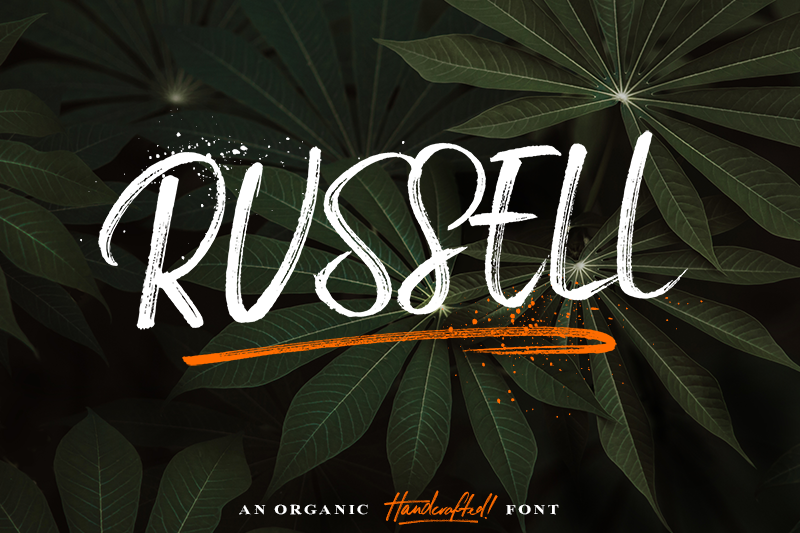 Russell Typeface