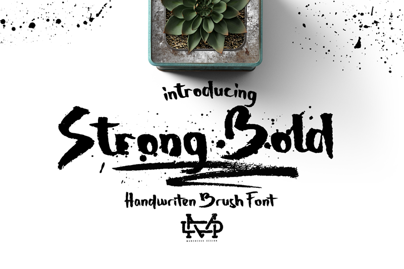 Strong Bold - Fontlot com