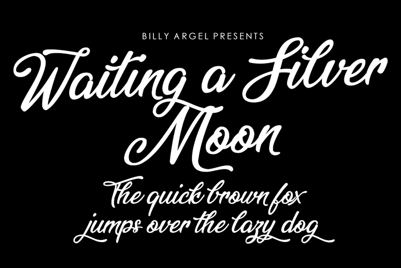 Waiting a Silver Moon