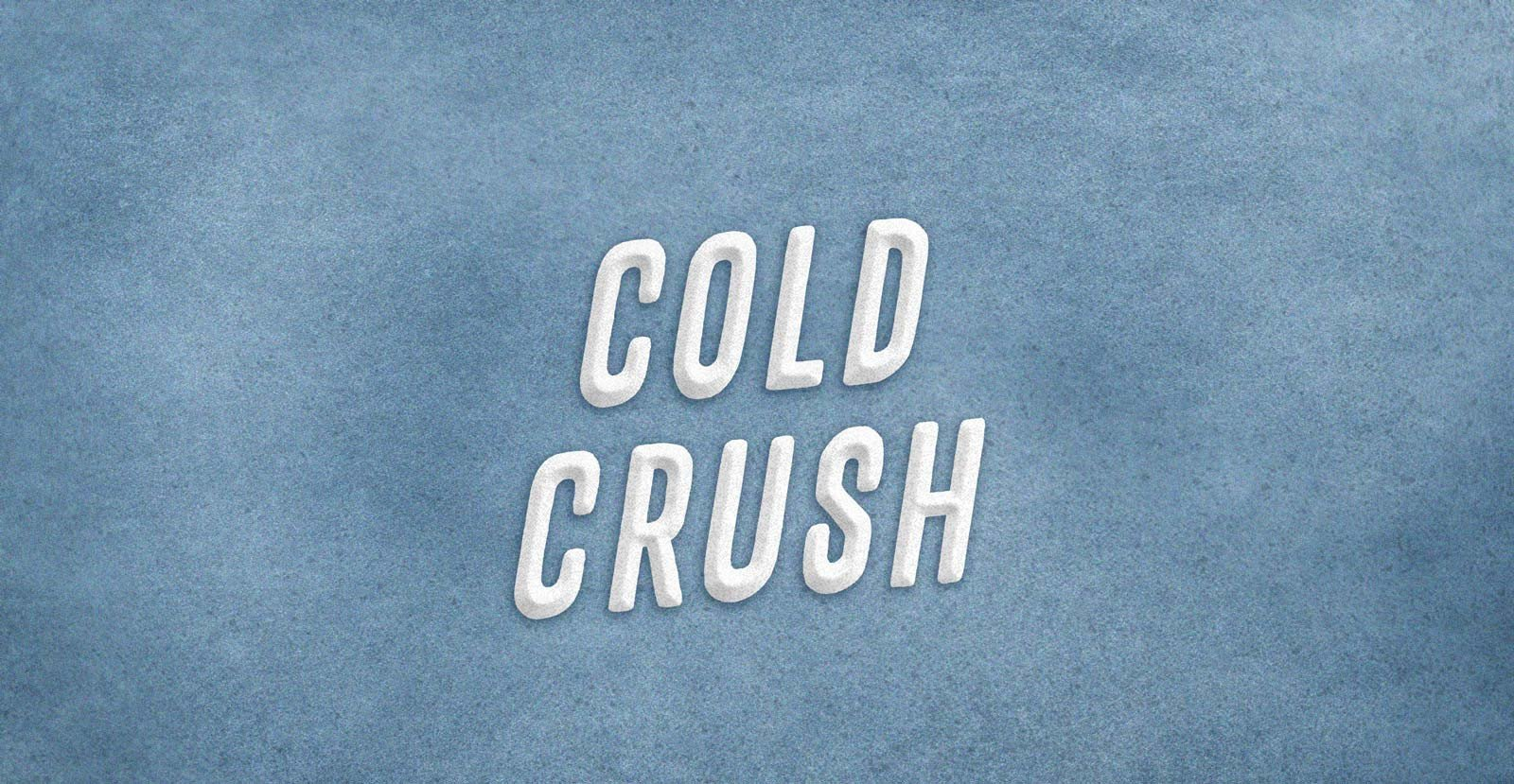 Cold Crush Typeface