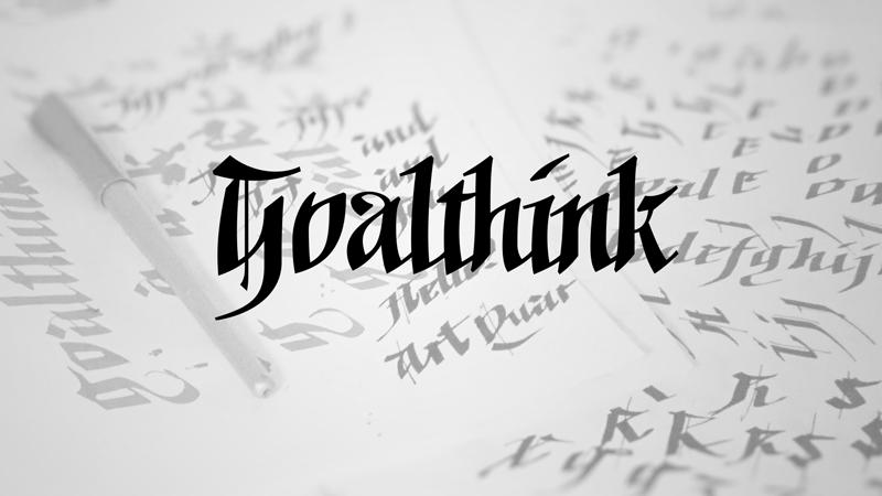 Goalthink Typeface