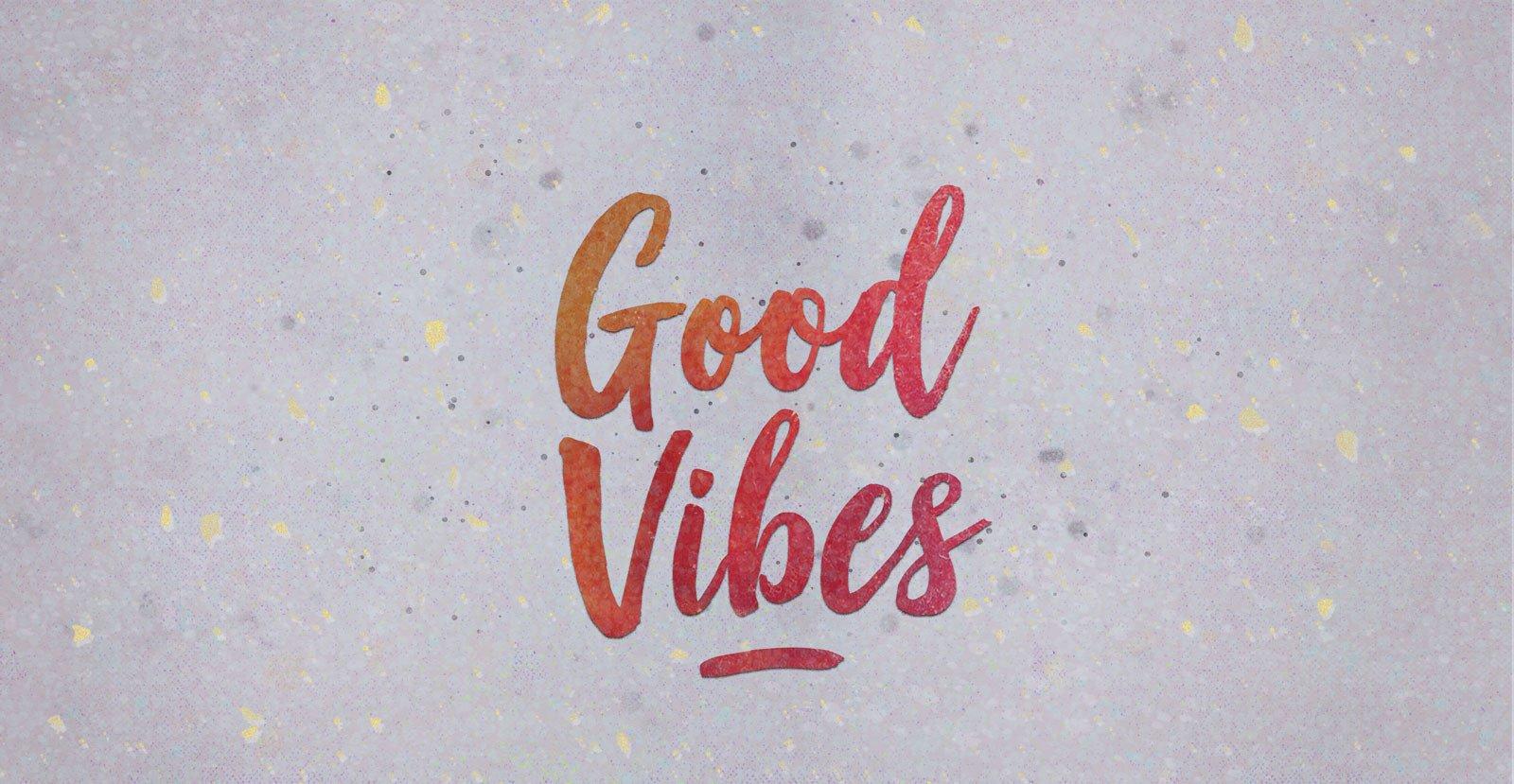 good vibes font fontlotcom