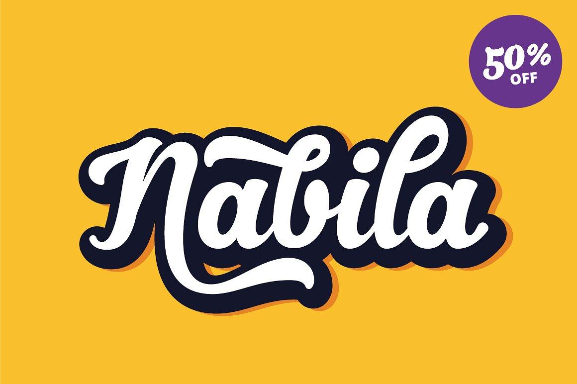 Nabila Script Font