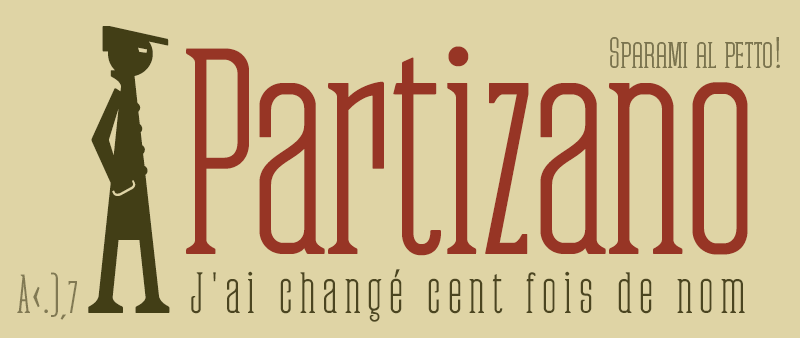 Partizano Typeface