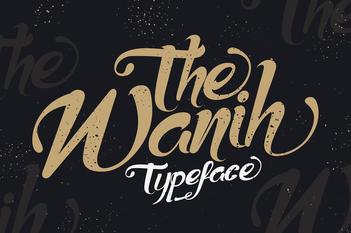 The Wanih Typeface