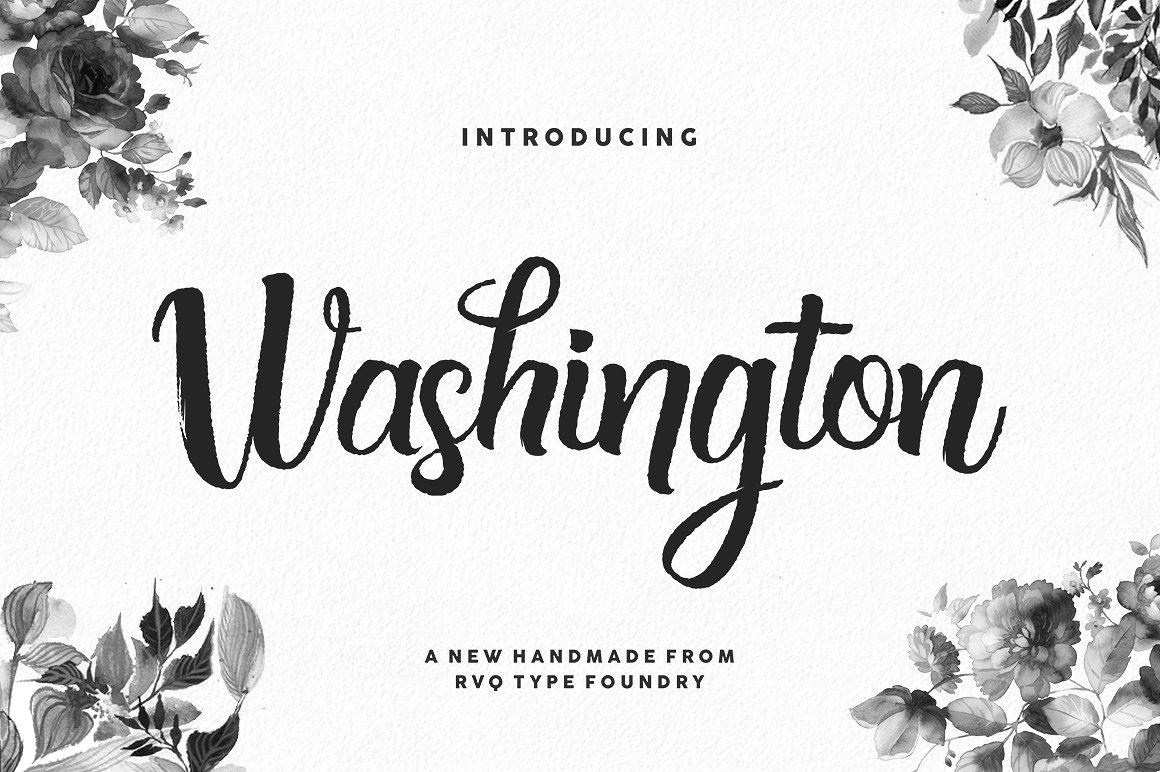 Washington Typeface