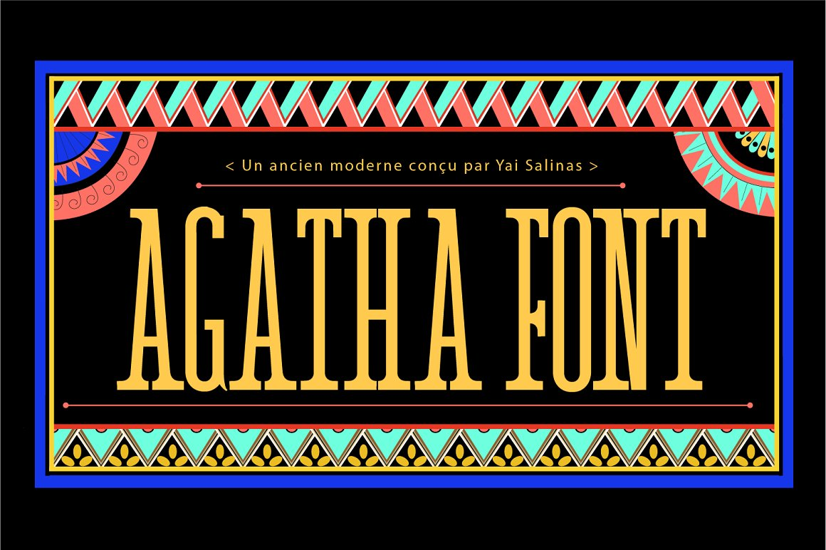Agatha Display