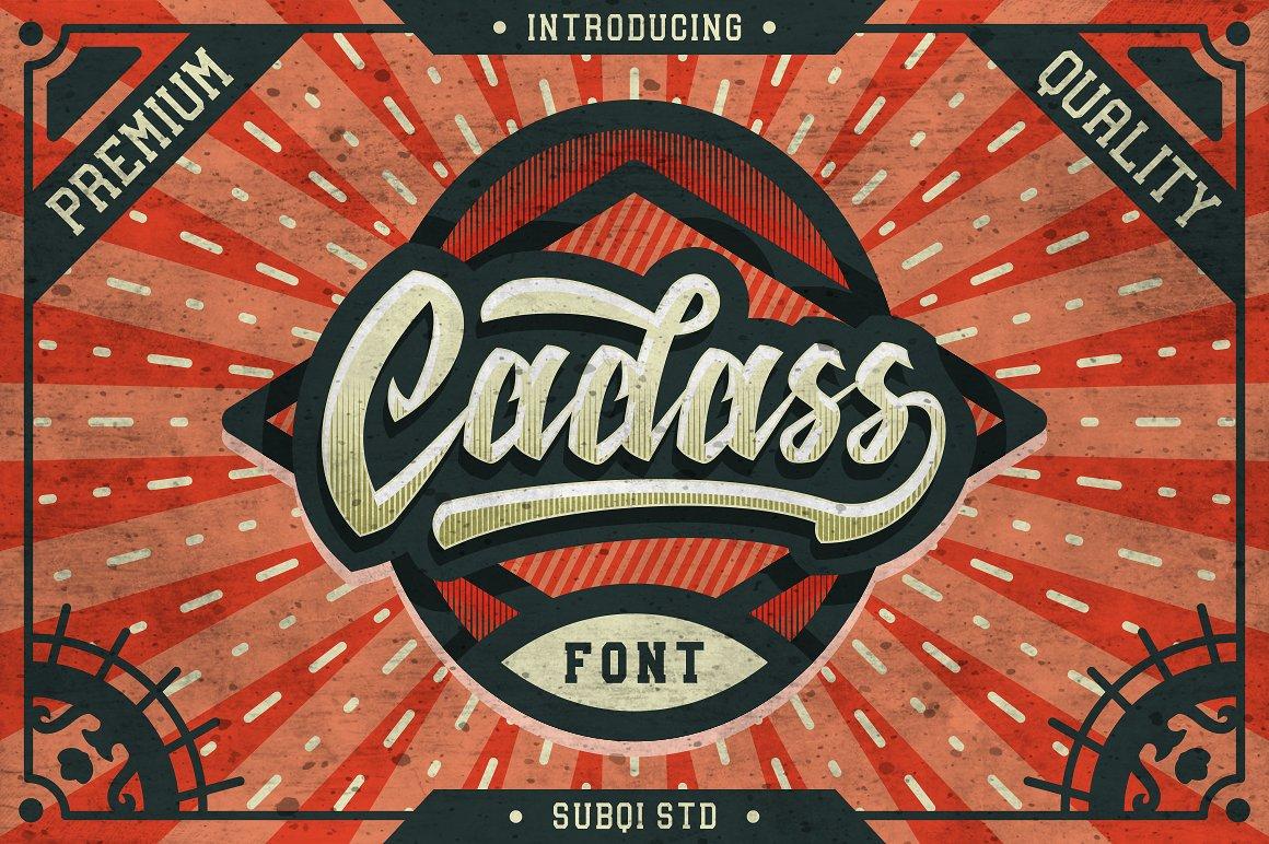 Cadass Typeface