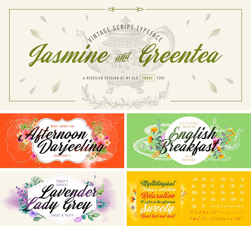 Jasmine And Greentea