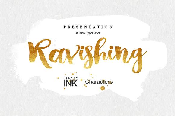 Ravishing - Fontlot com