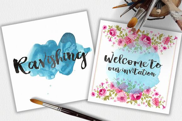 Ravishing font fontlot.com