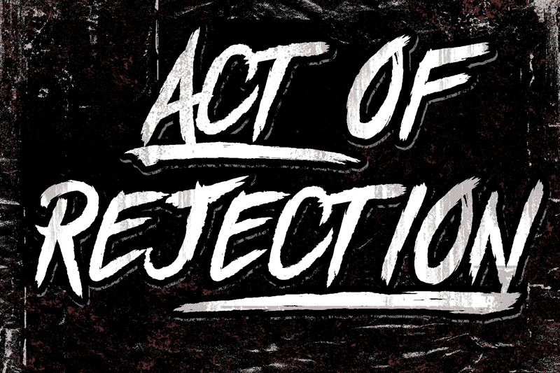 Act Of Rejection