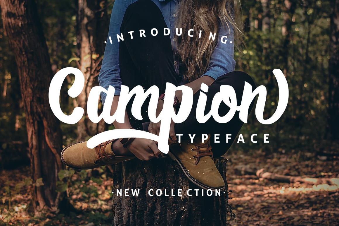 Campio Typeface