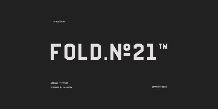 Fold No.21 Mono