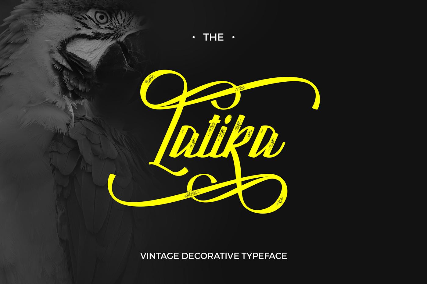 Latika Typeface