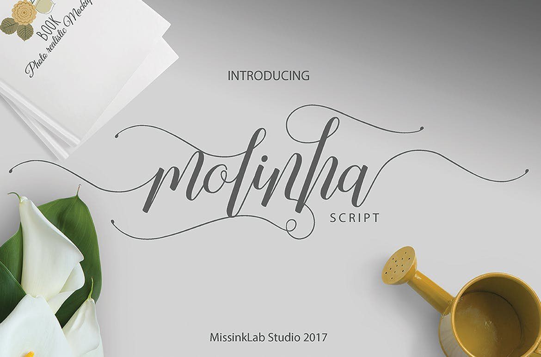 Molinha Script Font