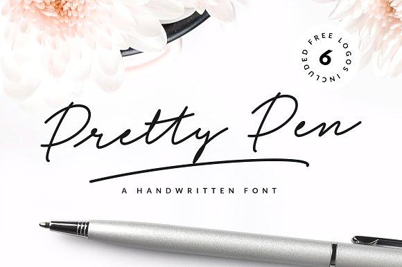 Pretty Pen - Fontlot com