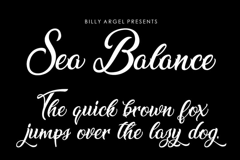 Sea Balance Script
