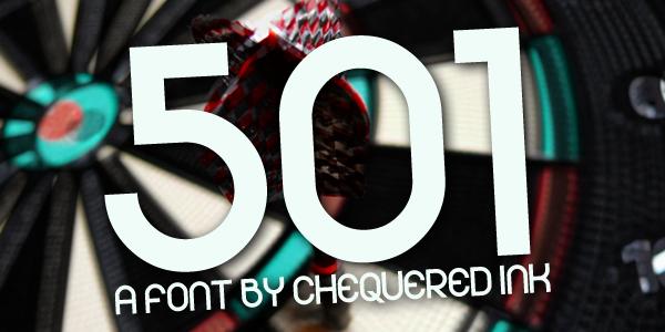 501 Typeface