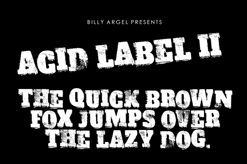 Acid Label II