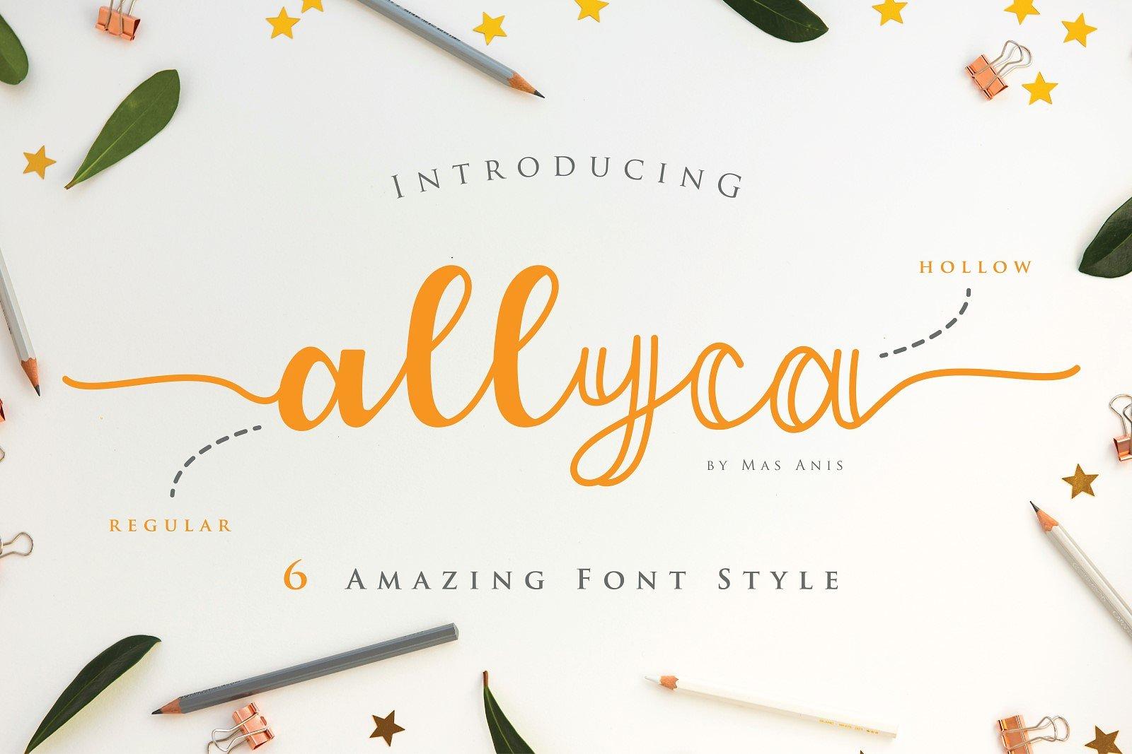 Allyca Script