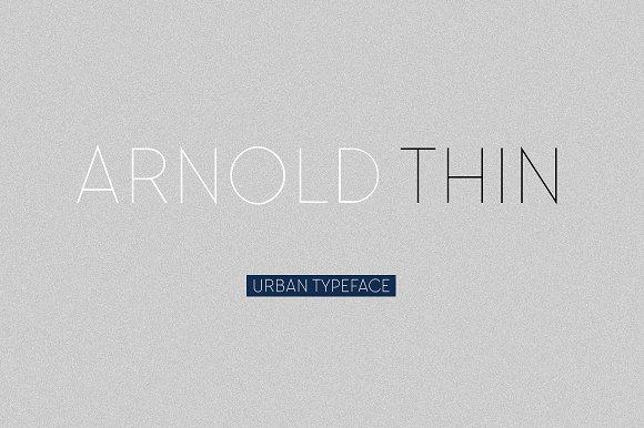 Arnold Thin
