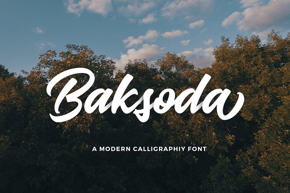 Baksoda Calligraphy