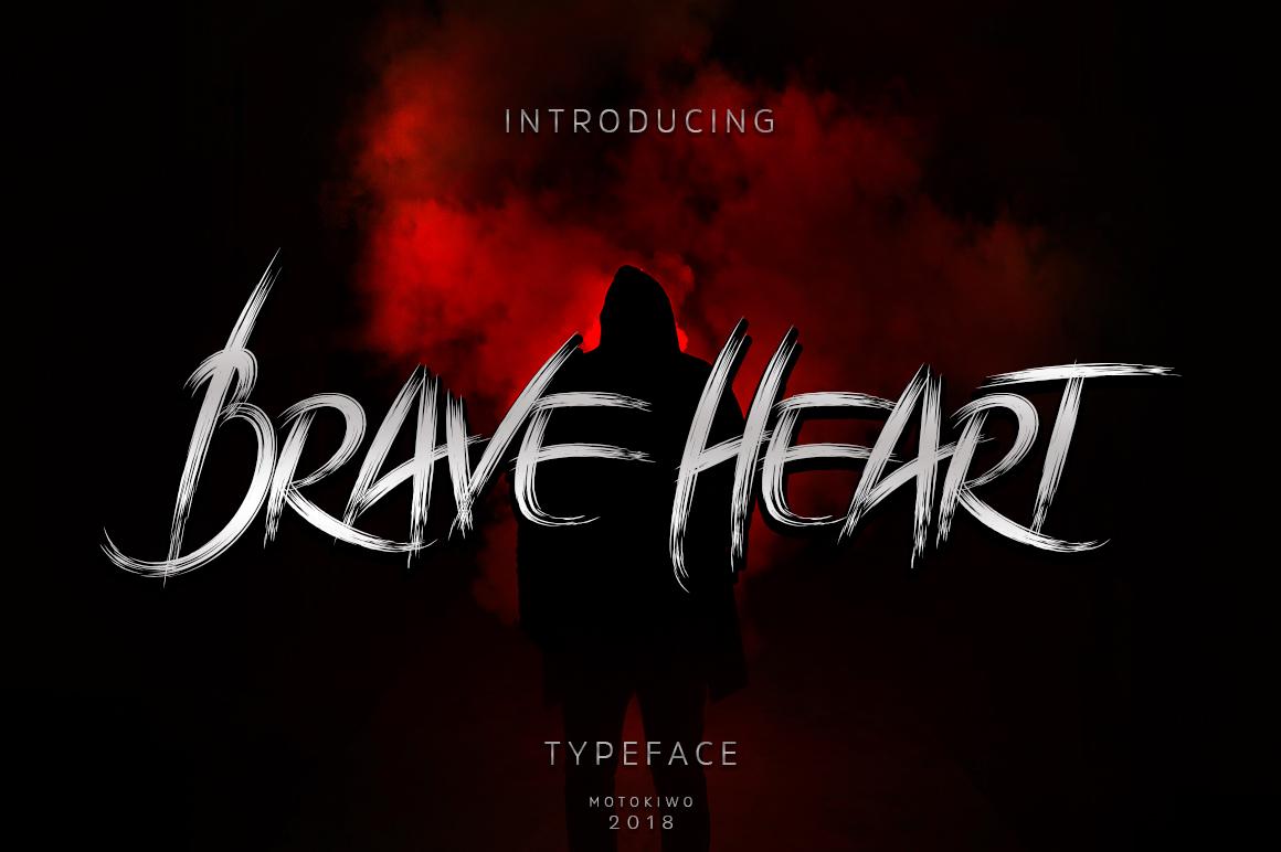 Brave Heart Brush