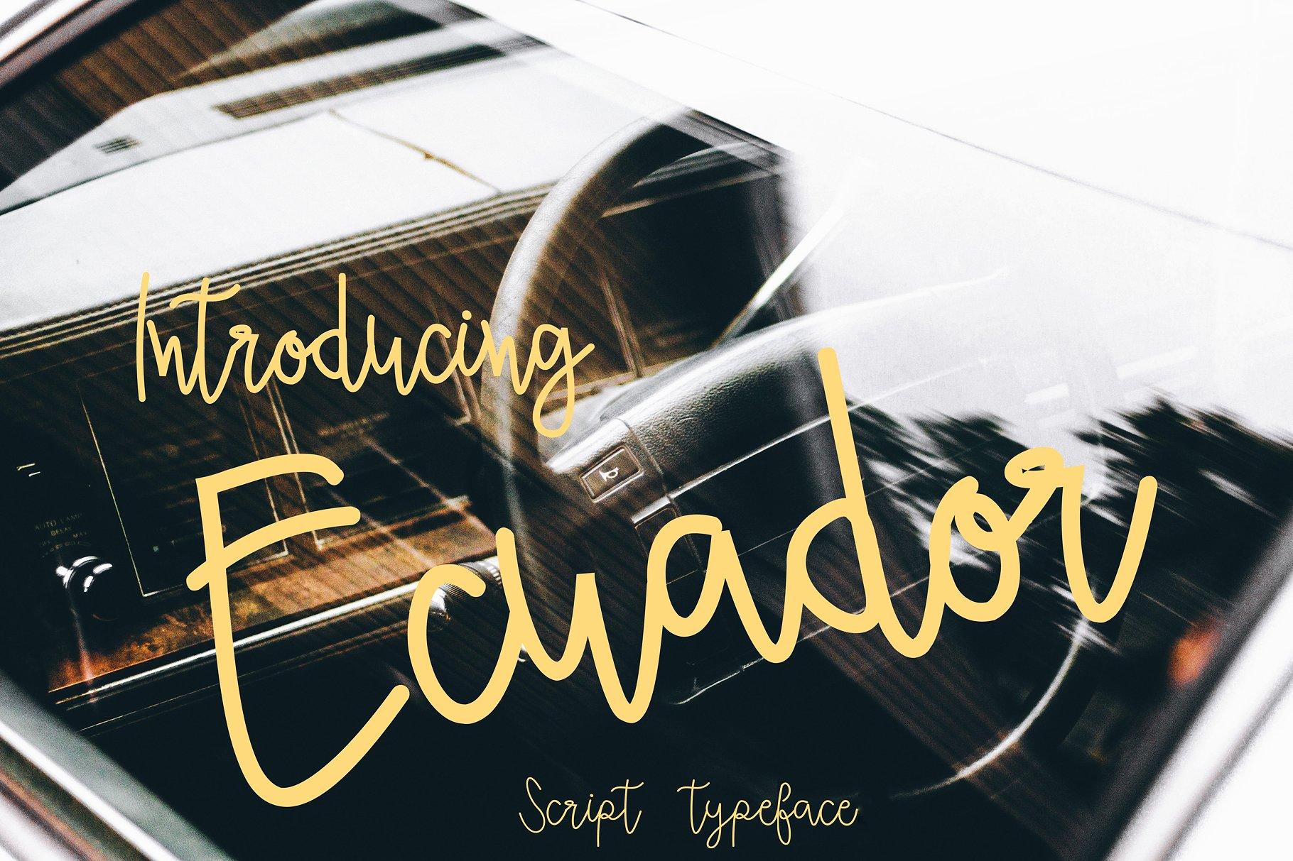 Ecuador Script