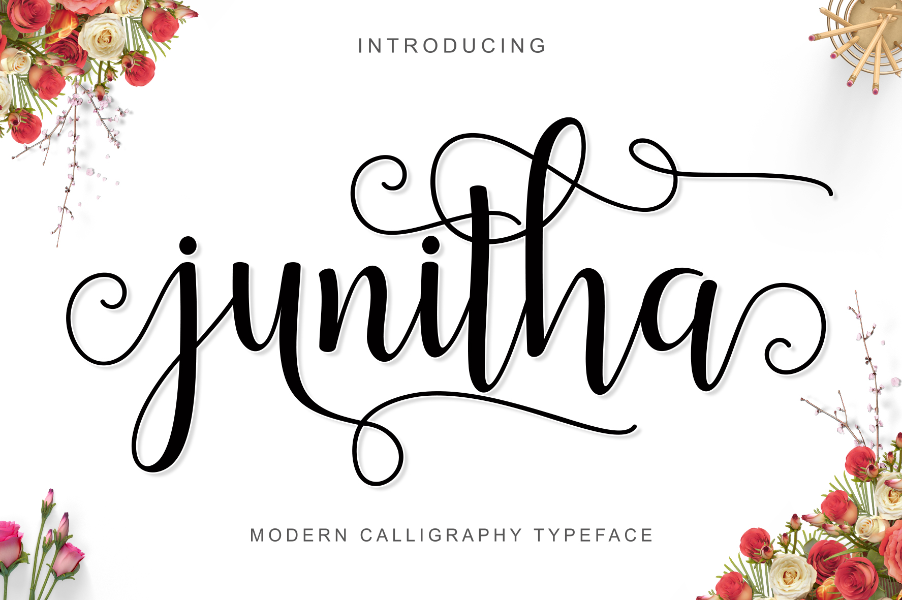 Junitha Script Fontlot
