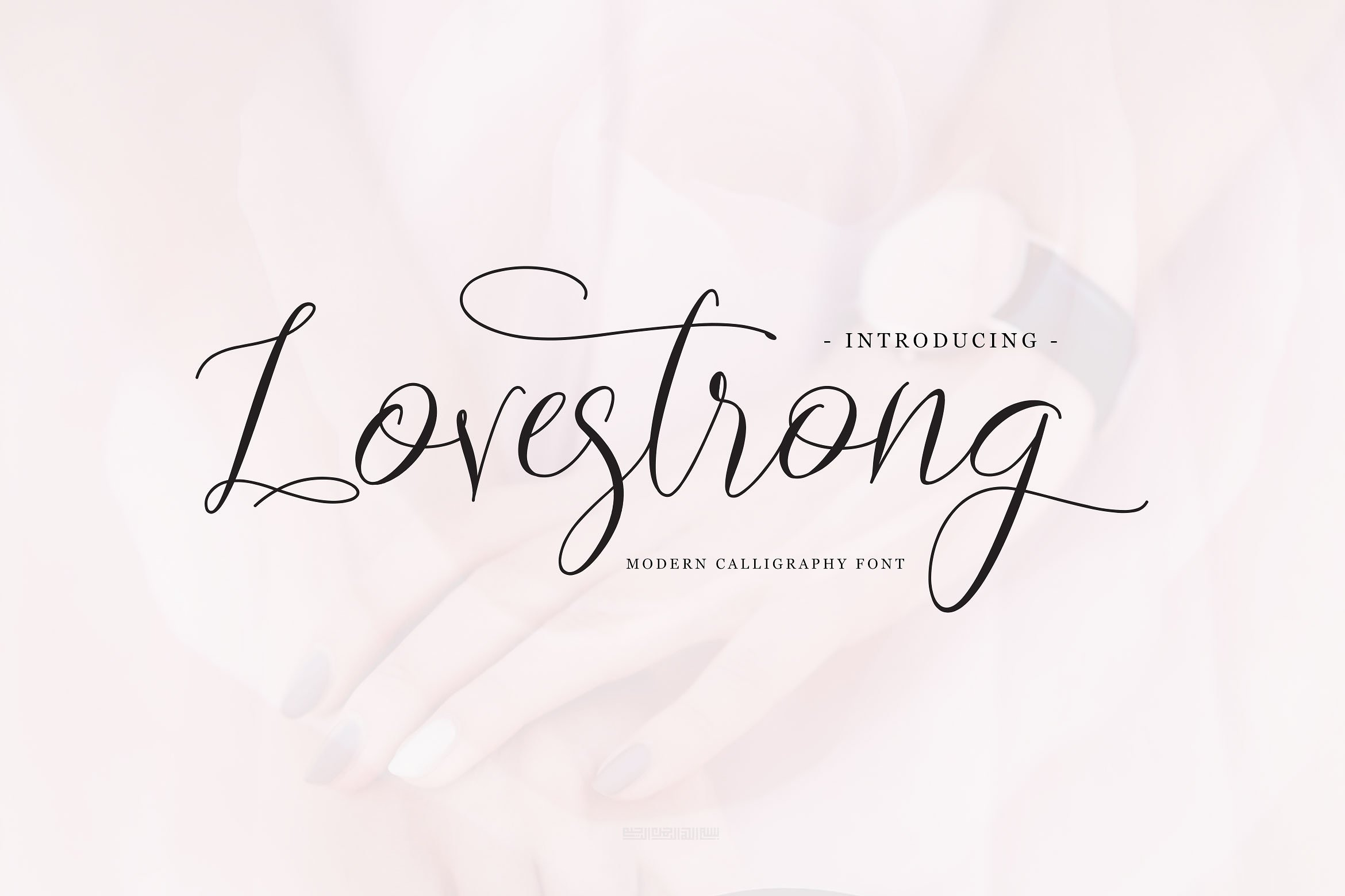 Lovestrong Calligraphy