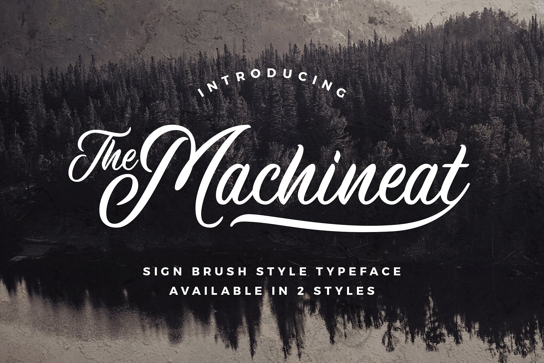 Machineat Brush Font
