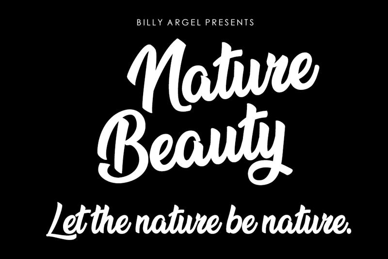 Nature Beauty Script