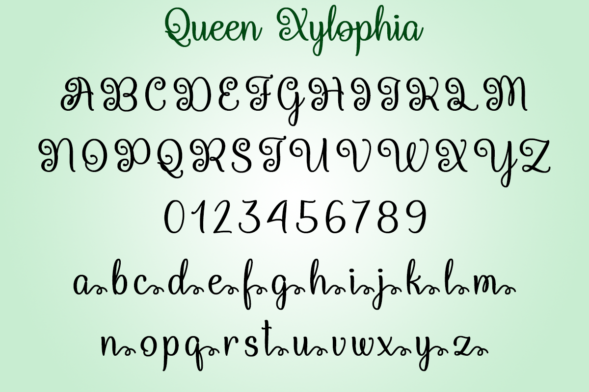 Queen Xylophia Script
