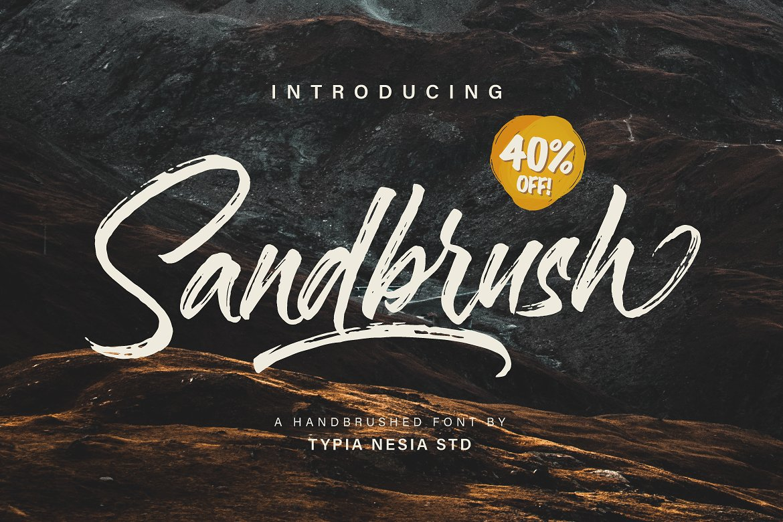 Sandbrush Script
