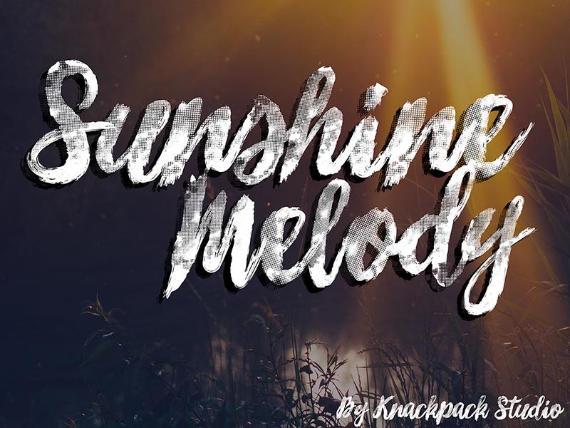 Sunshine Melody Brush