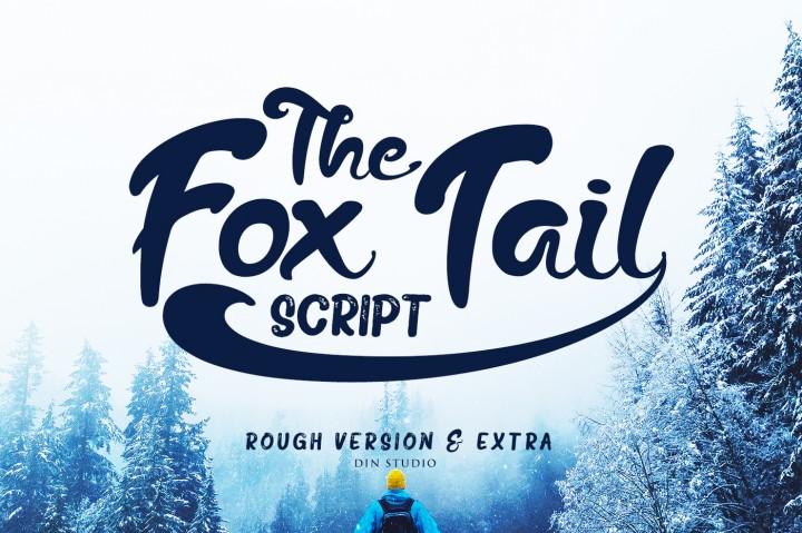 The Fox Tail Brush