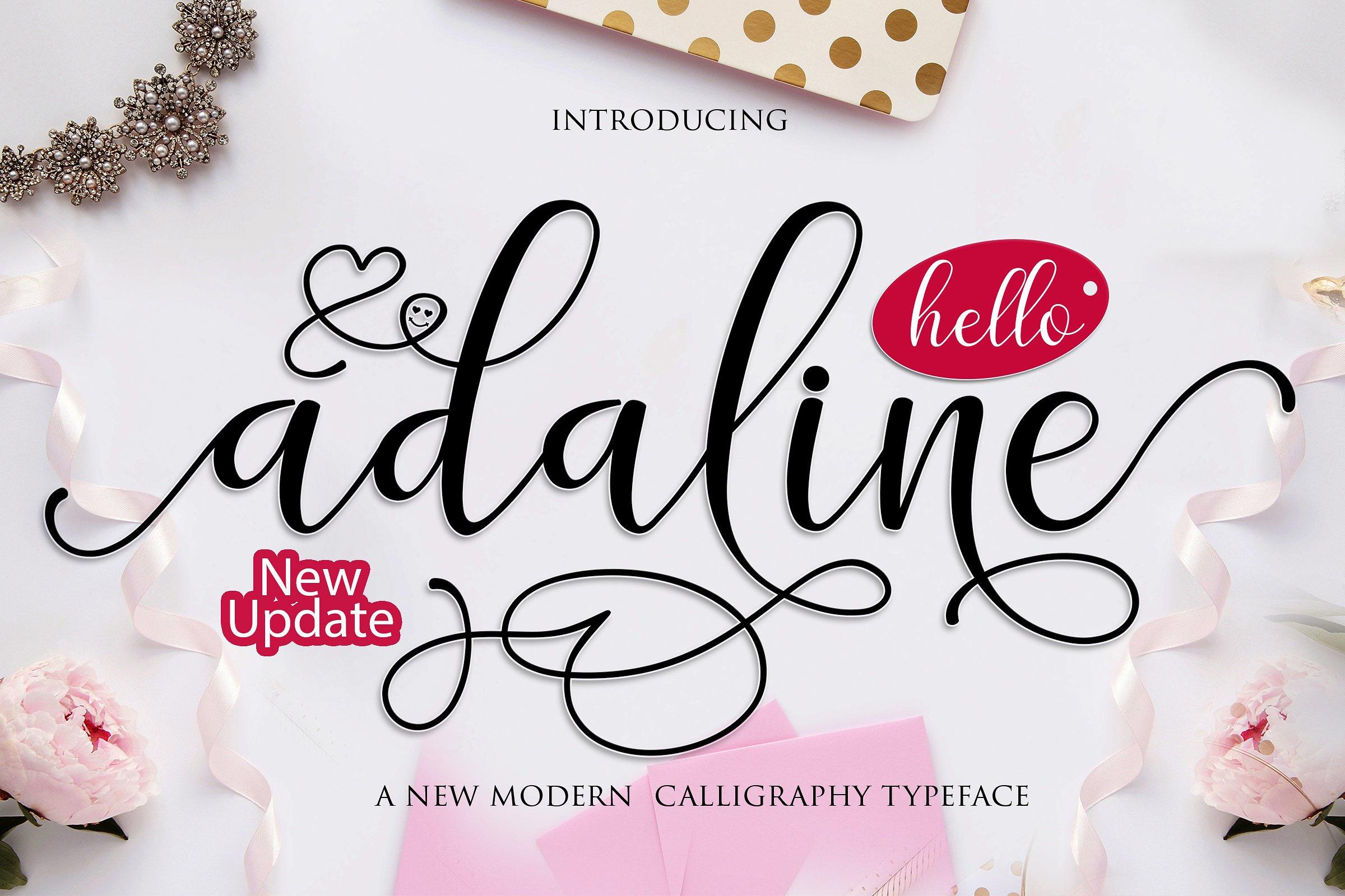 Adaline Calligraphy