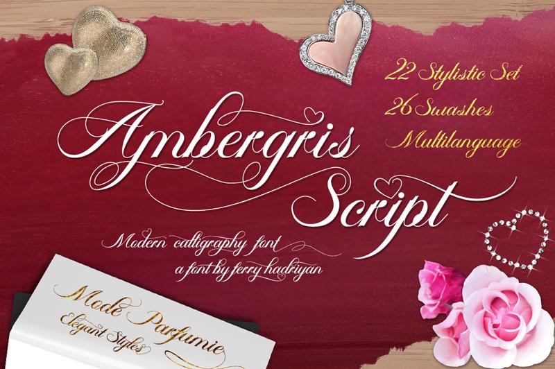 Ambergris Calligraphy