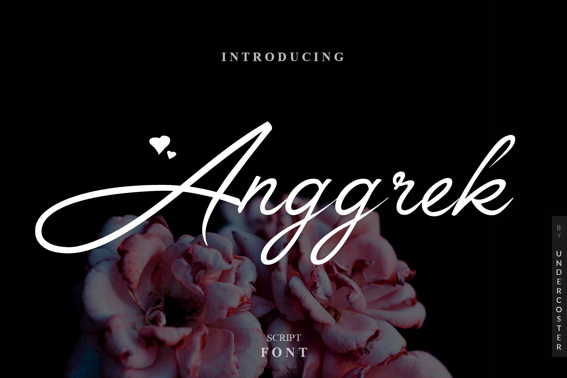 Anggrek Calligraphy