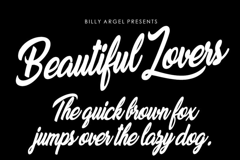 Beautiful Lovers Script