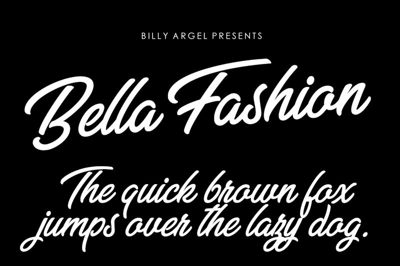 Bella Fashion Script