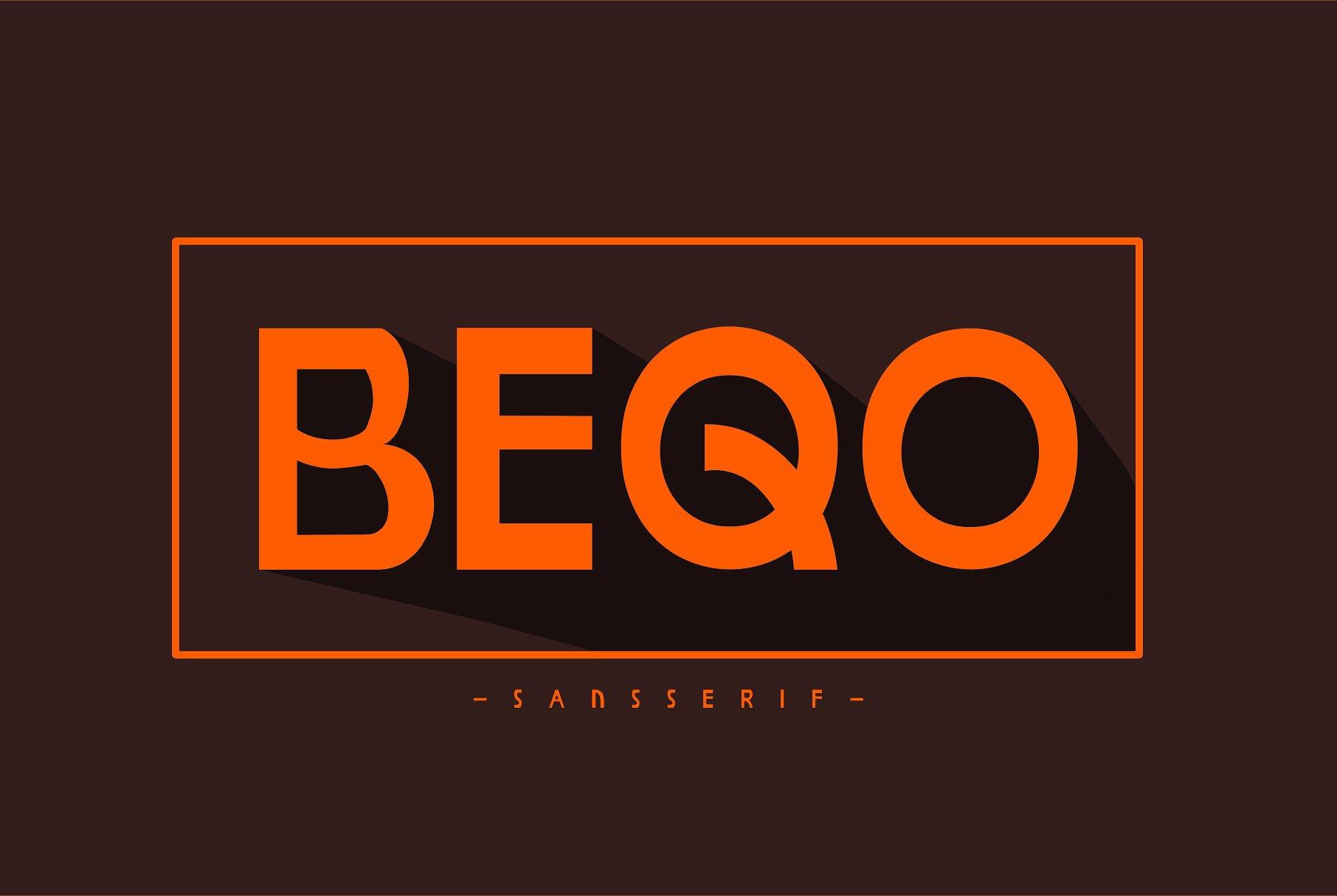 Beqo Sans Serif