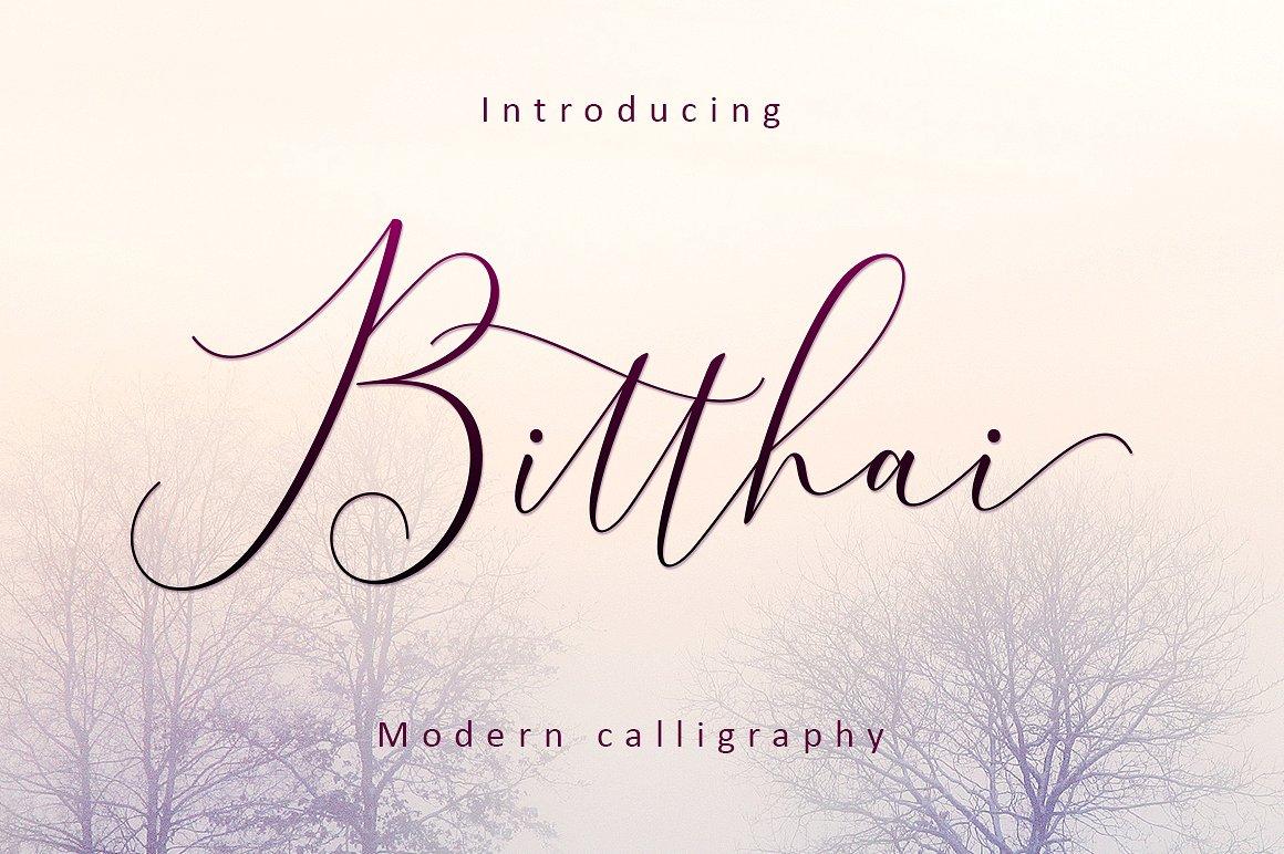 Bitthai Calligraphy