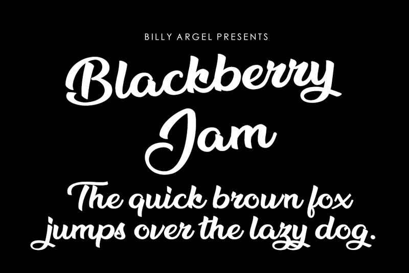 Blackberry Jam Script