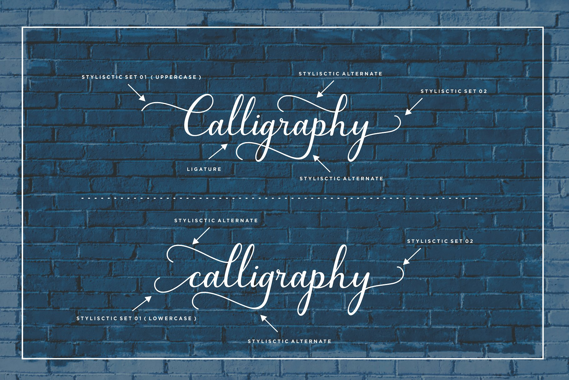 Bluebell Calligraphy